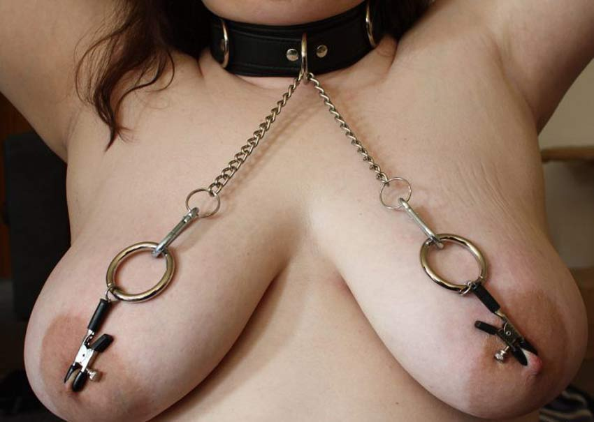 nipple clamps Painful