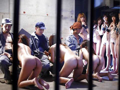 Orgy in female prison