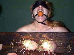 Burning of breasts