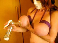 Whipping and milking tits